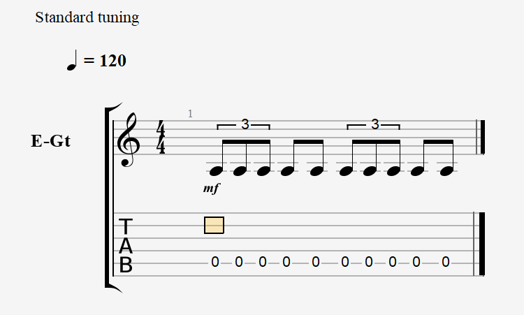 Triplets and Eighth Notes